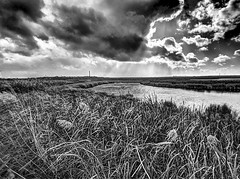RainhamMarshesNo8 - Copy (iankellybn26dj) Tags: thames uk england rive marshes landscape photo sky water wetland light clouds rainham essex london