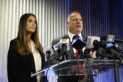 171025-Actress Accuses Weinstein Co (LeonardFiles) Tags: los angeles dominique huett harvey weinstein lawsuit suit sexual harassment company casting couch