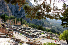 Temple of Apollo (ika_pol) Tags: unesco unescogreece worldheritage greece delphi antiquity ancient ancientgreece ancientruins geotagged parnassusmountains