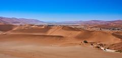 View from Sossusvlei dune (Udo Rust) Tags: namibia namib sossusvlei dunes desert wüste dünen hot sky sand