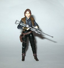 sergeant jyn erso star wars the black series red packaging rogue one walmart exclusive 3.75 inch basic action figures 2016 hasbro k (tjparkside) Tags: sergeant jyn erso rebel rebels blaster pistol rifle weapon weapons belt holster jacket vest alliance star wars black series basic action figure figures misb rogue one 1 2016 2017 hasbro tbs 375 inch 3 34 disney warrior red packaging part stock scope walmart exclusive jedha