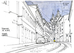 Lisbonne, Alfama (gerard michel) Tags: portugal lisbon alfama sketch croquis