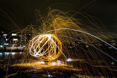 171028 2189 (steeljam) Tags: steeljam nikon d800 lightpainters greenwich wirewool spinning halloween