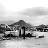 Mexico, 1987 (Dave Glass . foto) Tags: mexico bcmexico bajacalifornia sanfelipe autosalvage junkyard salvageyard sonorandesert fujigs645s chevrolettruck chevypickup
