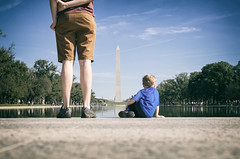 Making Memories (8230This&That) Tags: memories makingmemories fatherandson littleboy wonderment washingtonmonument nationalmall respect learning child washington districtofcolumbia unitedstates us