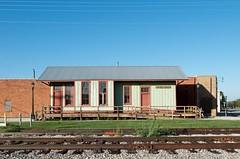 On to Burkburnett TX (dangr.dave) Tags: architecture burkburnett downtown historic texas tx wichitacounty depot traindepot trainstation railroadtracks railwayexpressagency