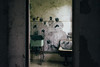 Washing Room (JoelZimmer) Tags: 24mmf28 jr ellisisland ellisislandhardhattour newyork nikond750 streetartgraffiti jerseycity unitedstates us