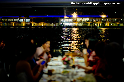 Chaophraya Cruise Bangkok Thailand Wedding Photography | NET-Photography Thailand Photographer