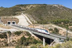 S112 La Cabrera (ACAsynchronous) Tags: adif renfe ave hst tunnel cabrera valencia 25kv talgo