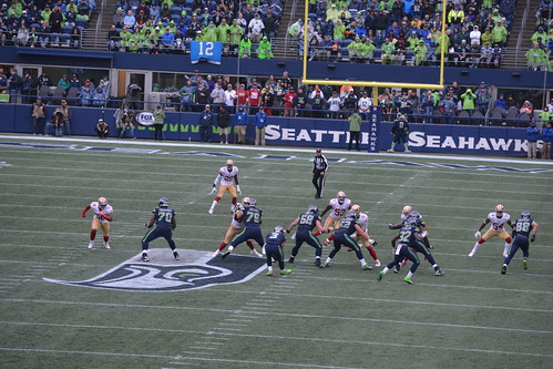 2017 Seahawks vs 49ers game
