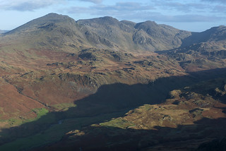 The Scafells and Hard Knott Fort