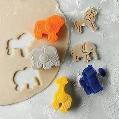 Animal Cracker Cookie Cutters (mywowstuff) Tags: gifts gadgets cool family friends funny shopping men women kids home