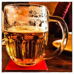 The glass is half full... (Timothy Valentine) Tags: beer pilsner fbpost large 1017 2017 hct hudson massachusetts unitedstates us