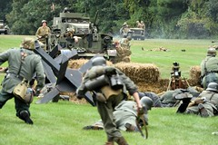 DSC_6637 (Mark Morello) Tags: collingsfoundation hudsonma battlefortheairfield encampment reenactment wwii worldwar2 german american british russian at6 pt17 texan stearman tanks german88 battle hudson massachusetts usa