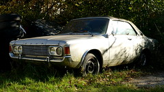 Ford 20M Coupe (vwcorrado89) Tags: ford 20m coupe 20 m taunus v6 2600 rusty abandoned wreck old car