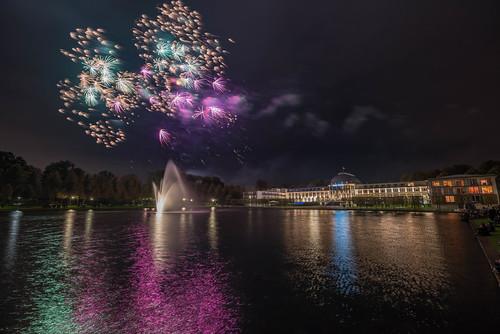 fotos feuerwerk osterwiese bremen 2018