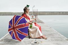 Fool Britannia (Apionid) Tags: britannia selfportrait sea parody nikond7000 gimp