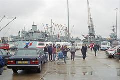 Overlord+50 : Southamton East Docks, 4 June 1994 (Ian D Nolan) Tags: railway southamptondocks 35mm epsonperfectionv750scanner dday om40