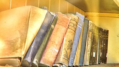 Bookshelf (cb|dg photo) Tags: bookshelf books interior classroom schoolhouse wildwest west oldwest monocounty mono mining goldrush ghosttown easternsierra california bodiestatehistoricpark bodieshp bodie abandoned
