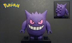 LEGO Pokémon: Gengar (JSparkysteel) Tags: halloween spooky spoop
