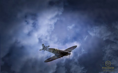 tinas spitfire (kapper22) Tags: spitfire photoshop manipulation fun effects toy clouds outdoors
