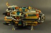 Darling Royale- profile (The_Newt) Tags: lego steampunk spaceship moc darling royale airship steam punk