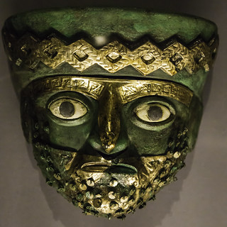 Moche Burial Mask