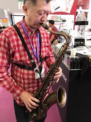 2017上海法蘭克福國際樂器展Tk saxophone #musiChina #tksaxophone #Tk薩克斯風 #小林香織 小林香小林#KobayashiKaori # saxophonemaker