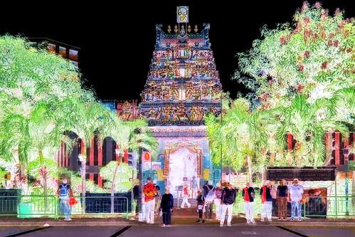 Singapore - Hindu Temple - 11bb