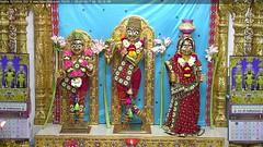 Radha Krishna Shayan Darshan on Thu 28 Sep 2017 (bhujmandir) Tags: radha krishna dev lord maharaj swaminarayan hari bhagvan bhagwan bhuj mandir temple daily darshan swami narayan shayan