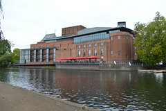 Photo of Royal Shakespeare Theatre from the Avon