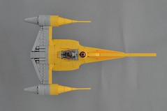 Naboo N-1 Starfighter V2 (Top) (Inthert) Tags: naboo lego moc ship star wars n1 phantom menace fighter royal starfighter top astromech sleek smooth