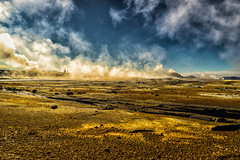 The Martian I (*Capture the Moment*) Tags: 2017 clouds farbdominanz fog fotowalk iceland island namaskard nebel rauch schlammquellen schwefel smoke sonya7m2 sonya7mii sonya7mark2 sonya7ii sonyfe2470mmf4zaoss sonyilce7m2 sulphur wetter woleken yellow gelb mudfountain mudspring mudwell