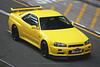 Nissan, Skyline R34 GT-R , Wan Chai, Hong Kong (Daryl Chapman Photography) Tags: t14100 nissan skyline gtr pan panning wanchai r34