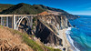 Bixby Creek Bridge (Bob.Z) Tags: monterey california unitedstates us bridge bixbycreekbridge bixbybridge bigsur montereycounty ocean oceanfront seaside shoreline coastline hwy1 highway1 pacific