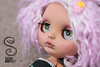 Riley (Nepenthe (Sutura Workshop)) Tags: nepenthe sutura workshop blythe blythecustom customblythe custom custo tan tanned skin eyechips carbing carved chips carving cute doll eyes faceup full girl lips lids makeup muñeca maquillaje natural ooak plastic sweet wip eyelids
