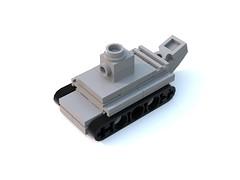 BrickMania RENAULT R35 micro. (Sabaton_n) Tags: lego brickmania ww1 wwi ww 1 tank renault r35 r 35 instruction micro