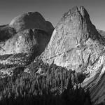 Three mountain tops at Yosemite thumbnail