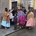 Dans les rues de La Paz.