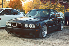 BMW 5-Series (NGcs / Gábor) Tags: car bmw 5series e34 german 5er americanspec usdm stance
