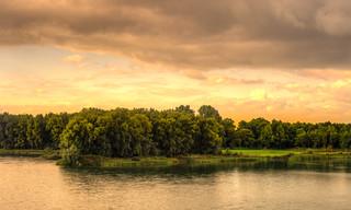 West Frisian golden skies.