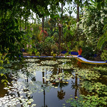 Majorelle Garden. Yves Saint Laurent.