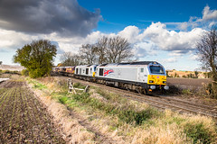Trip of disaster (Rails West) Tags: chellaston dbs67 class67 quintupleheaded 67026