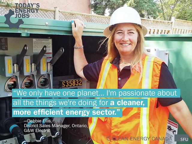 Debbie Ellis – District Sales Manager, Ontario – G&W Electric Canada