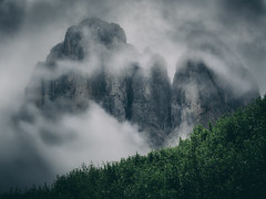Above clouds (--StadtKind--) Tags: berge mountains mountain nature naturephotography south tyrol suedtirol dolomiten dolomites dolomiti italy italien moodynature moody olympusem10markii olympusm124028pro stadtkind landscape landschaft nebel fog myst