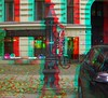 historische Wasserpumpe, nach altem Vorbild neu gegossen (rolfmarquardt) Tags: anaglyph 3d stereo rotgrün rotcyan berlin wasserpumpe lauchhammerpumpe