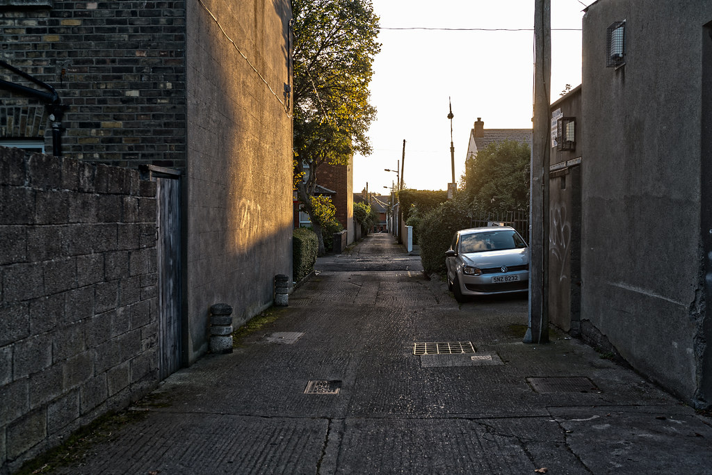 TODAY I TRIED TO LOCATE THE NEW GRANGEGORMAN TRAM STOP [I COULD NOT FIND THE ACTUAL ENTRANCE]-133084