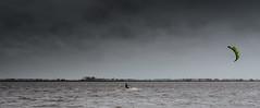 Kitesurfer Schildmeer (Gert Brink) Tags: groningen siddeburen steendam gert schildmeer brink think fujifilm x100f netherlands