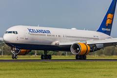 Boeing 767-300ER Icelandair TF-ISN cn 30586/808 (Guillaume Besnard Aviation Photography) Tags: ams eham amsterdamschiphol schipholairport plane planespotting airplane aircraft canoneos1dsmarkiii canonef500f4lisusm boeing767300er icelandair tfisn cn30586808 boeing boeing767 boeing767300 polderbaan
