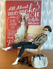 All About Momoko DOLL by Holly (Inger K) Tags: sekiguchi momoko orionssonata ikea poäng poang dollybird allaboutmomokodoll